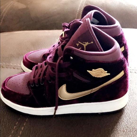 f9bd0748f93 Jordan Shoes   Air 1 Heiress Gg Velvet   Poshmark